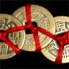 Три китайские монетки фен шуй в кошелек VIP